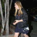 Chloe Moretz at a restaurant in Beverly Hills
