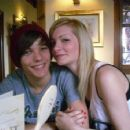 Hanna Walker and Louis Tomlinson