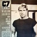 Marlon Brando - Cine en 7 dias Magazine Pictorial [Spain] (22 June 1968) - 454 x 567