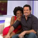 Dean Cain and Kimberly Elise  -  Wallpaper - 454 x 255