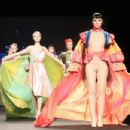 Genevieve Potgieter and other SanRizz models walk the runway at the makeup and hairdressing fashion show during International Hairdressing Awards Fashion at Ifema in Madrid, Spain. February 3, 2019 - 454 x 303