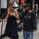 Rita Ora in Black Dress – Out in Soho