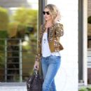Rosie Huntington Whiteley In Tight Jeans Out In La