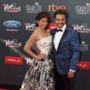 Alessandra Rosaldo and Eugenio Derbez