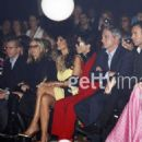 Prince and Bria front row at the Galliano fashion show