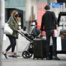 Millie Mackintosh – Arriving back in London - 454 x 303