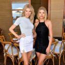 Charlotte McKinney– Sofia Richie Celebrates Campaign With Frankies Bikinis in Malibu