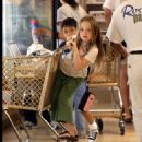 Kate Beckinsale - At The Gym & Shopping With Her Daughter, August 17