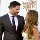 Sofia Vergara and Joe Manganiello- Premiere of Warner Bros. Pictures' 'Magic Mike XXL' - Arrivals