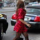 Eva Mendes: strolled around New York