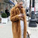 Candice Swanepoel – Leaving Ralph Lauren Show in New York - 454 x 726