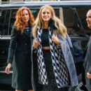 Blake Lively is spotted stepping out in New York City (February 15, 2017)