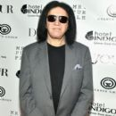 Gene Simmons attends the fashion week celebration with Dujour magazine at Mr. Purple on September 11, 2017 in New York City - 400 x 600