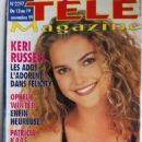 Keri Russell - Tele Magazine Cover [France] (13 November 1999)