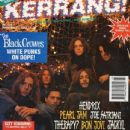 Eddie Harsch, Marc Ford, Steve Gorman, Johnny Colt, Chris Robinson, Rich Robinson - Kerrang Magazine Cover [United Kingdom] (21 November 1992)