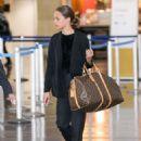 Alicia Vikander – Arriving at JFK Airport in New York City