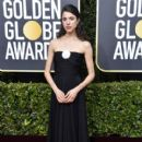 Margaret Qualley wears Chanel  Dress : 77th Annual Golden Globe Awards