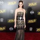 Lydia Hearst – 'Solo: A Star Wars Story' Premiere in Los Angeles