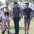 Richie Sambora and Ava Sambora at Day 3 of first weekend of The Coachella Valley Music and Arts Festival in Coachella, California on April 11, 2015 - 454 x 502