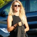 Julianne Hough Street Style – Arriving at Just Dance 8/23/2016