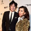 Tommy Lee and Sofia Toufa attend Glazer Palooza and Suits and Sneakers on February 3, 2016 in San Francisco, California. - 419 x 600