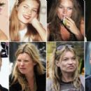 Kate Moss  Thru the Years - 454 x 273