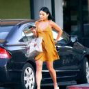 Vanessa Hudgens in Mini Dress Out in Los Angeles - 454 x 535