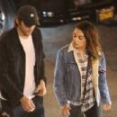 Mila Kunis and Ashton Kutcher – Leaving a party in Los Angeles - 454 x 303
