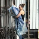 Mandy Moore in Tights – Picks up her dry cleaning in LA - 454 x 572