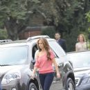 Jennifer Love Hewitt Shoots The Client List March 13, 2012