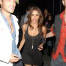 Rachel Sterling Visits Wonderland Nightclub with Friends