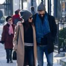 Abigail Spencer with her new boyfriend – Out in Paris - 454 x 680