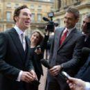Benedict Cumberbatch-November 10, 2015-Investitures at Buckingham Palace - 454 x 300