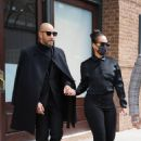 Alicia Keys –  Seen at DMX's funeral in New York - 454 x 681
