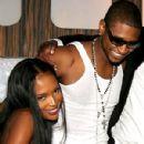 Naomi Campbell and Usher Raymond - 300 x 400