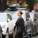 Irina Shayk – seen on the streets of New York City