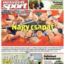 Nemzeti Sport - Nemzeti Sport Magazine Cover [Hungary] (25 August 2014)