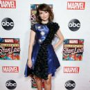 Milana Vayntrub – Celebrating Marvel's Stan Lee Event in New York - 454 x 614