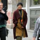 Vanessa Hudgens – Filming 'Second Act' in Soho