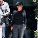 Salma Hayek – Leaves Mr Chow in Los Angeles