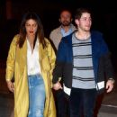 Priyanka Chopra and Nick Jonas at Craig's restaurant in West Hollywood