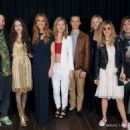 James Jagger, Elizabeth Jagger, Céline Dion, Georgia May Jagger, Josh McLellan and Suki Waterhouse