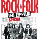 Jimmy Page, John Paul Jones, John Bonham, Robert Plant - Rock & Folk Magazine Cover [France] (June 2014)