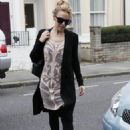 Kylie Minogue Out & About In London, October 8, 2010