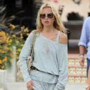 Fashion stylist to the stars, Rachel Zoe, and husband take a stroll together at the Malibu Country Mart