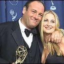 James Gandolfini and Marcy Wudarski
