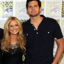 Sarah Michelle Gellar and Kristoffer Polaha