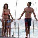 Bikini Beauty Brooke Burke's St Barts Family Vacation - 454 x 363