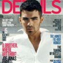Joe Jonas in the cover of Details Magazine