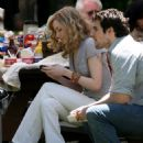 Evan Rachel Wood Is Not A Goth On The Set Of Woody Allen Project - May 23 2008